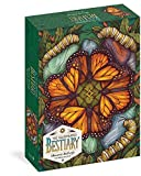 The Illustrated Bestiary - Monarch Butterfly: 750-piece Puzzle (Wild Wisdom)