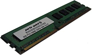 8GB Memory for Quanta STRATOS Motherboard S210-MBT2W DDR3 PC3-12800E ECC RAM Upgrade (PARTS-QUICK BRAND)