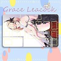 GraceLeacock カードゲームプレイマット 遊戯王 プレイマット Azur Lane アズールレーン Roon ローン アニメグッズ TCG万能 収納ケース付き アニメ 萌え カード枠あり (60cm * 35cm * 0.2cm)