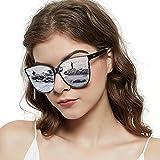 Best Uv Sunglasses - LVIOE Cat Eyes Sunglasses for Women, Polarized Oversized Review