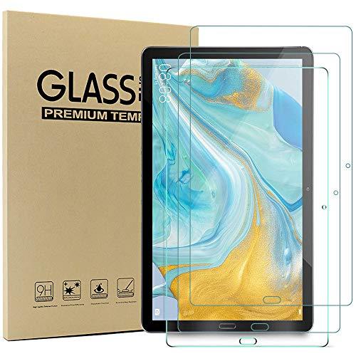 Ash-case [3 Pezzi Compatibile con Huawei Mediapad M6 8.4 Tablet Tablet - Proteggi Schermo in Vetro temperato - [Bordo Tondo 3D] [Durezza 9H] [Cristallino] [Resistenza ai Graffi], Cancella