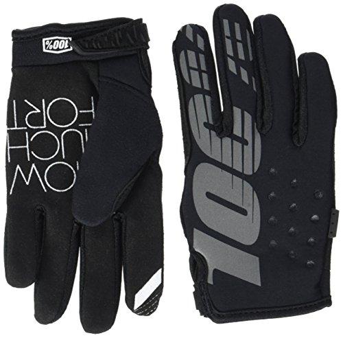100% Kinder Handschuhe Brisker, Schwarz, M, HU-GLO-0011