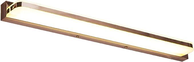 LED-spiegellicht, modern en eenvoudig voor badkamerhotel en hotel wandlamp spiegellicht (kleur: wit licht)