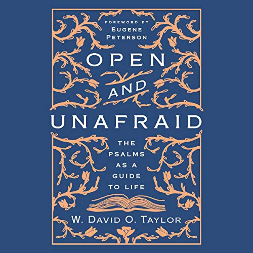 Open and Unafraid audiobook cover art