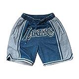 男性用バスケットボールショーツ、に適用するジェームズNo 23 生地、柔らかく快適、ファンへの最も親密な贈り物-L