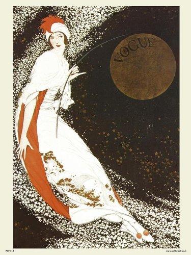 Vogue Vintage Covers Pop Art Poster Druck Milchstraße (PDP 019)