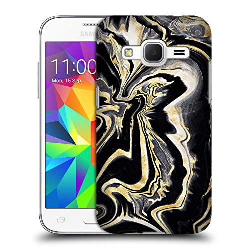 Head Case Designs Ufficiale Monika Strigel Oro 2 Marmo Prezioso Cover Dura per Parte Posteriore Compatibile con Samsung Galaxy Core Prime