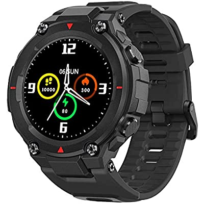 AllCall Smart Watch,Smart Watches for Women Men, IP68 Waterproof Fitness Tracker Watch with Blood Pressure Heart Rate Monitor Activity Tracker Smartwatches with Calorie for iOS Android