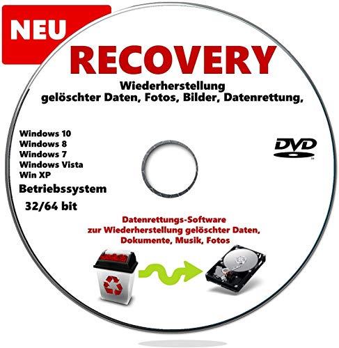 Wiederherstellung Gelöschter Daten, Fotos, Bilder, Datenrettung, Recovery, PC