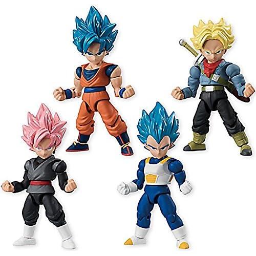 Dragon Ball Super 66 Action Dash Super Saiyan Character Mini Action Toy Figure Statue Set of