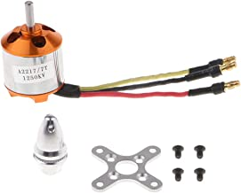 Flameer A2217 1250KV Brushless Motor + Metal Mount / propellers Clip for 9'' Blade Propeller Fixed Wing Helicopter / RC Ship