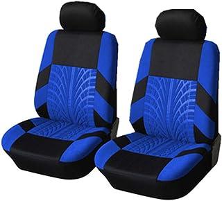 Cubierta Del Asiento Delantero - Asiento De Una Pieza Con Respaldo Alto - Cubierta De Malla Para SUV De Camión De Vehículo (Compatible Con Airbag),Azul