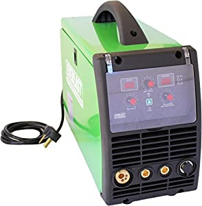 2017 Everlast PowerMIG 200 200amp MIG stick welder dual voltage 110v/220v spool gun ready by Everlast Power Equipment
