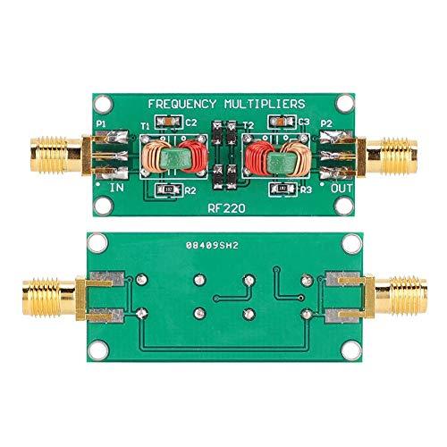 Oumij Amplificatore a Banda Larga Ad Alta Frequenza RF Uscita 10KHz-1GHz 10dBm Ricevitore Segnale Amplificatore per Sistemi a Banda Larga, HF a Onde Corte, FM, VHF UHF UHF Amplificazione