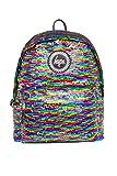 HYPE Rainbow Sequins Backpack- Multi