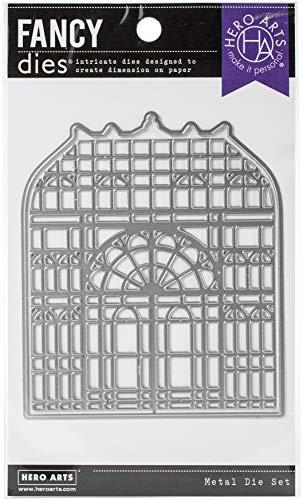Hero Arts DI715 Greenhouse, Gewächshaus im viktorianischen Stil, mit Rahmen, Einheitsgröße