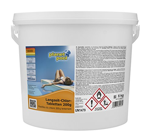 Planet Pool Langzeit-Chlor-Tabletten 200 g 5 kg