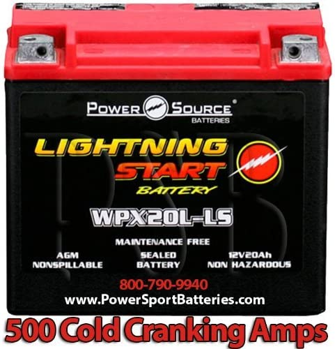 Harley FXDF Free shipping Dyna Fat Bob 1584 Start 1690 Genuine 20ah 500cca Lightning