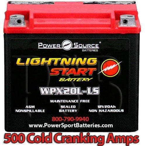 Harley VRSCF V-Rod MUSCLE 1250500CCA Lightning Start 20Ah Sealed AGM de alto rendimiento de la motocicleta Batería de repuesto para Año 2009, 2010, 2011, 2012, 2013, 2014
