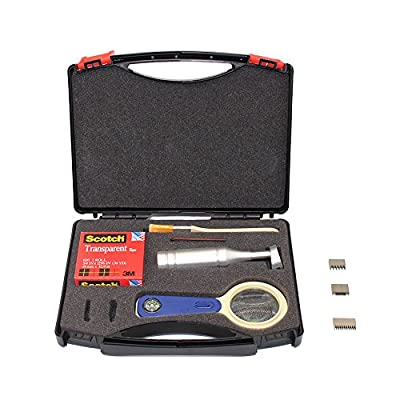 top-tool Newest Cross Hatch Adhesion Tester Cross-cut Adhesion Tester Kits with 1mm/2mm/3mm Blades