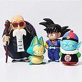 Anime Modelo Estatua 4 Unids/Set Dragon Ball Pilaf Son Goku Maestro Figura de Acción Juguetes Muñeca Colectiva 7-14Cm Regalos de Anime Juguetes Kits de Modelos