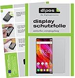 dipos I 2X Schutzfolie matt kompatibel mit Oukitel Mix 2 Folie Bildschirmschutzfolie