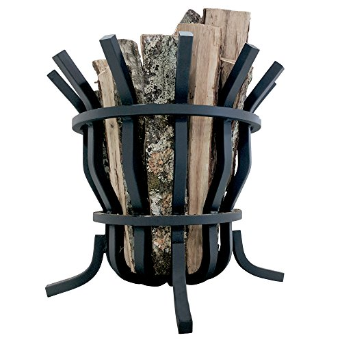 Review Titan Self-Feeding 1 Solid Steel Fire Pit Basket