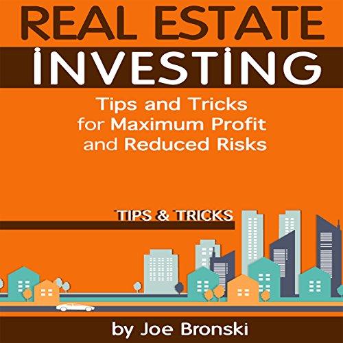 Real Estate Investing: Tips and Tricks to Be a Successful Real Estate Investor audiobook cover art