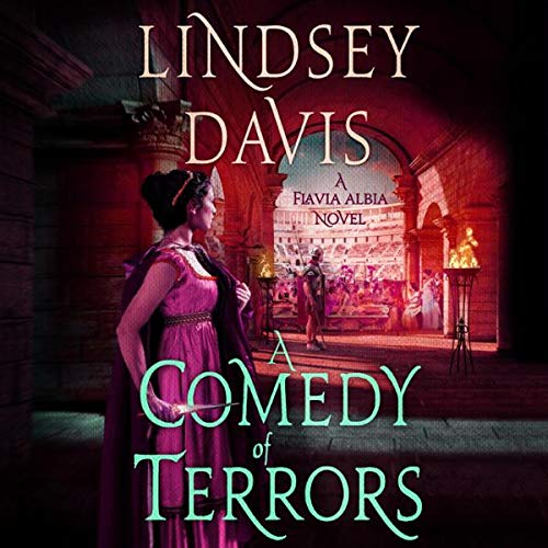 A Comedy of Terrors Audiobook By Lindsey Davis cover art