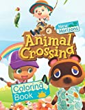 Animal Crossing New Horizons Coloring Book: 42 Most Popular Characters