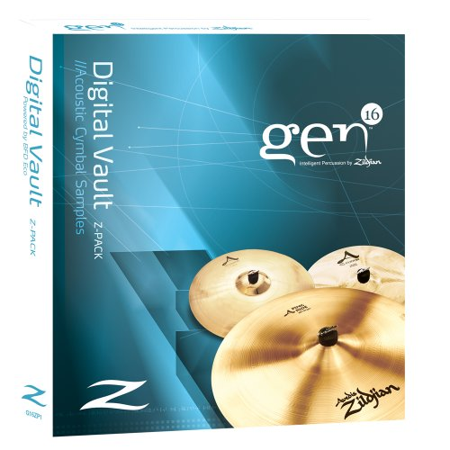 Price comparison product image Gen16 Digital Vault Z-Pack: A Series Cymbals with BFD Eco.