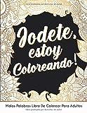 Jodete, estoy Coloreando!: Malas Palabras Libro De Colorear Para Adultos con mandalas abstracto y flores, para aliviar el estrés