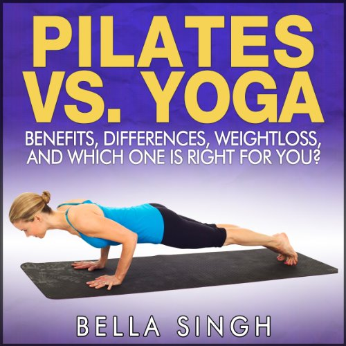 Pilates vs. Yoga audiobook cover art