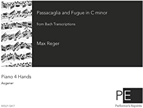 Bach Transcriptions - Passacaglia and Fugue in C-minor For Piano 4 Hands