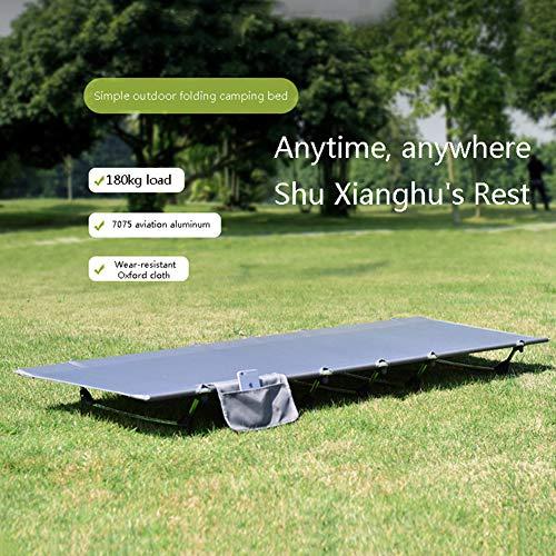 XUEXIONGSP Ultraleicht Faltzelt Camping Cot Bett, Portable Für Outdoor-Reisen, Base Camp, Wandern, Bergsteigen, Leichte Wandernden,185cm