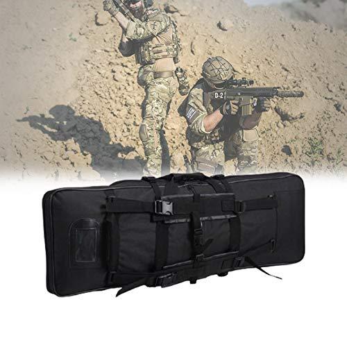 HNWTKJ Tactical Rifle Case Verdickte, Long Shotgun Bag Gun Case, Langlebiges Nylon und Wasserbeständige Außenschale, Perfekt für Jagd und Schießen (Size : 120cm/47.2in)