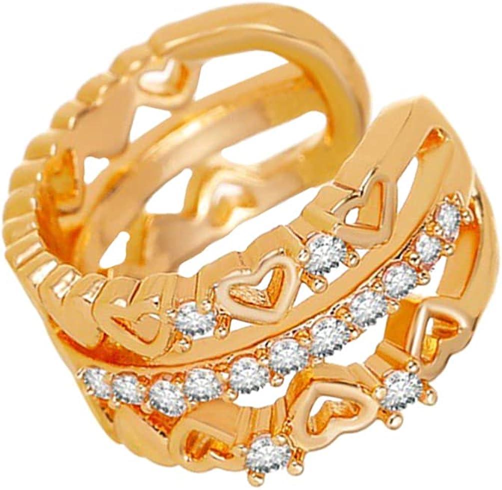 Happyyami Ear Clip Ear Cuffs Earrings Non Piercing Clip on Cartilage Earrings for Men Women Jewelry Gift