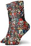 Photo de LeCoid Chausettes,Confortables,Respirantes,Men Women Novelty Quick Dry Low Cut Sports Socks Clowns The Bad Boys