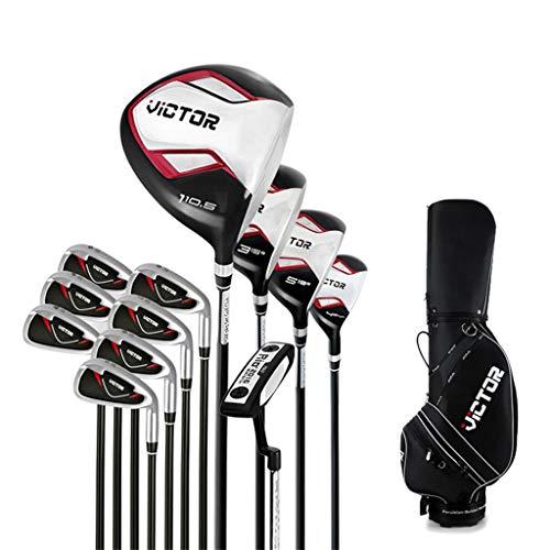 DBG Junior komplettes Golf-Set w/Bag Putter für 12st Männer und Frauen-rechte Hand und Linke Hand!,Steel Rod