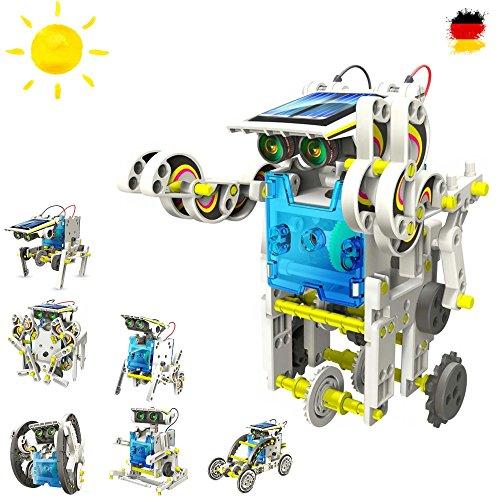Robot Construcktion Set con pannello solare, DROIDE, Gioco di costruzioni di set elettrica di solare Kit educativo strutturale Kit con Solar Scienza