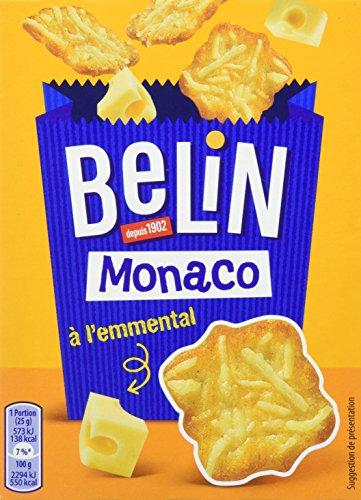 Belin- Crackers Monaco à lEmmental-Paquet de 100g