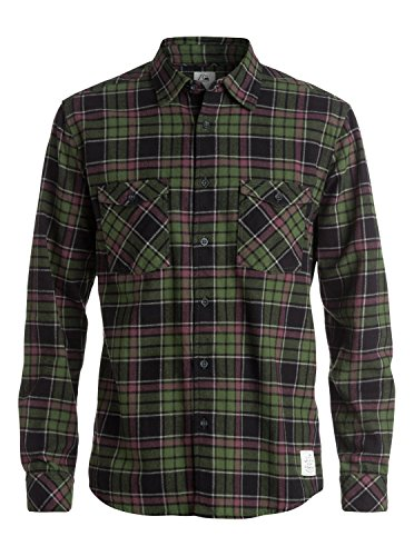 Quiksilver Fitzthrower Chemise Homme Fitzthower Bronze Green FR : XL (Taille Fabricant : XL)