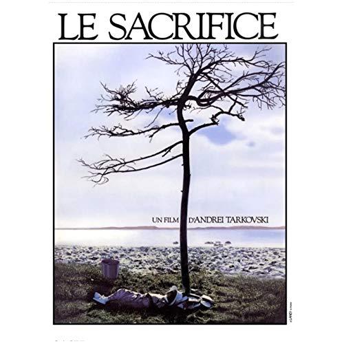FACAIA Le Sacrifice O Sacrifice Andrei Tarkovsky Russo Itália Pôster decorativo em tela para decoração de casa presente - 50 x 70 cm sem moldura