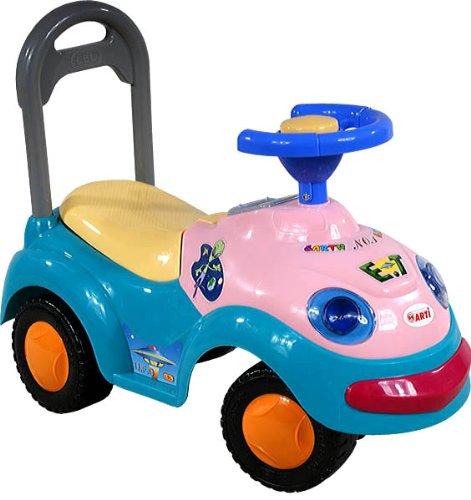 ARTI Jouets ? Tirer Trotteur Porteur 2109BY Garbus Classic Blue Ride-on Activity Toy Baby Car