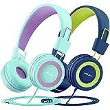 Vogek Over Ear Headphones with Mic, Lightweight...