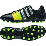 adidas nitrocharge 2.0 TRX AG - Botas de fútbol para hombre negro / plateado Talla:6,0 UK - 39,1/3 EU