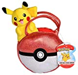 Pokémon Pikachu Pokéball Purse Accessory - With Cute Miniature Pikachu Plush Toy Figure