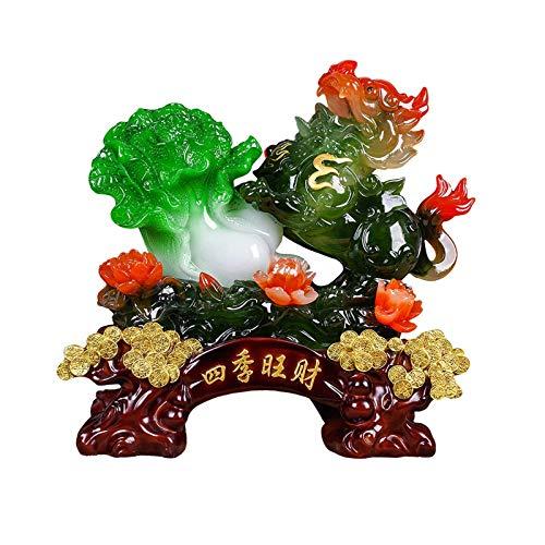 Decoración Del Hogar Estatuas Pi Xiu Decoración Lucky Pi Xiu Ruyi Col Decoración De Sala De Estar Escritorio Feng Shui Decoración Tienda Regalo De Apertura Decoración Del Hogar Estatuillas Creativas