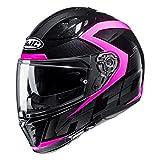 HJC I70_AST-MC8_S CASCOS Asto black/pink S