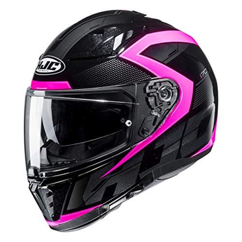HJC Damen NC Motorrad Helm, Schwarz/PINK, S